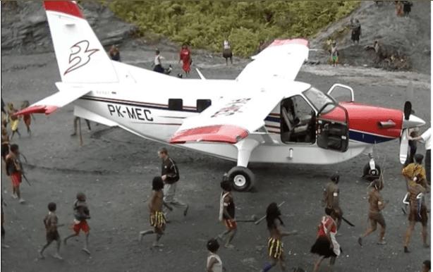 Diduga Kelompok Kriminal KKB Papua Bakar Pesawat Misionaris