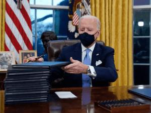 Biden Janji ke Meksiko Batalkan Kebijakan Trump