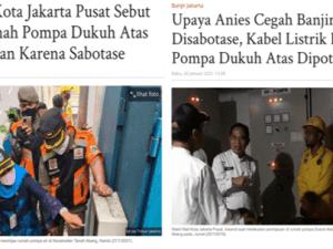 Bela Anies, HNW Sebar Berita Bohong Soal Sabotase