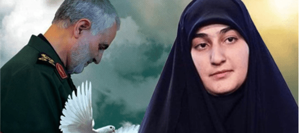 Zainab Soleimani: Trump, Kau Bunuh Ayahku, Kini Kau Terhina