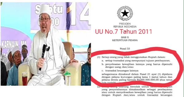 """Labrak"" Tengku Zulkarnaen, Eko Kuntadhi: NKRI Bukanlah Bangsa Khilafah"