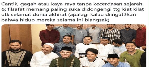 Kritikan Pedas Budiman Sudjatmiko Soal Artis Hijrah Pro Khilafah