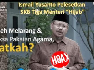 Ayik Heriansyah: Ismail Yusanto Pelesetkan SKB Tiga Menteri