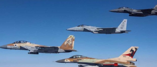 Biadab, Rudal-rudal Israel Membabi-buta Bombardir Suriah Selatan