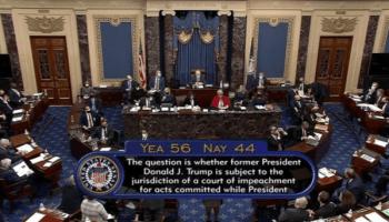 Senat AS Bebaskan Trump dari Pemakzulan