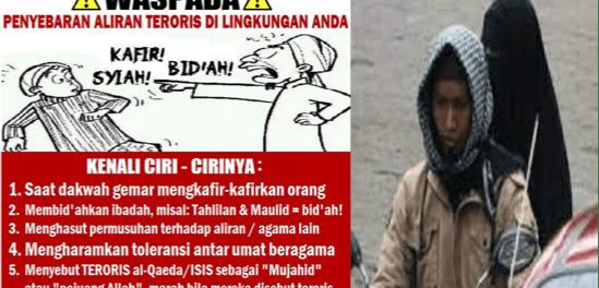 Pelaku Bom Gereja Katedral Makassar Beraliran Wahabi