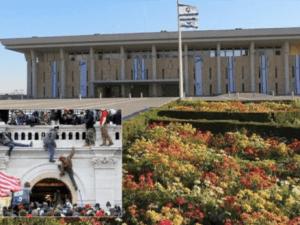 "Keamanan Israel Bersiap Hadapi Kerusuhan ""Ala Serangan Capitol"" di Knesset"