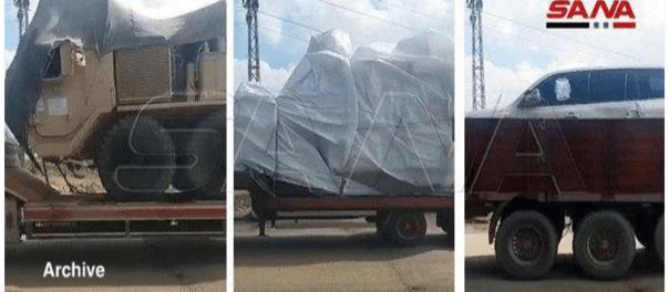 AS Kirim 45 Truk Pasokan Militer dan Tanker Minyak ke Suriah