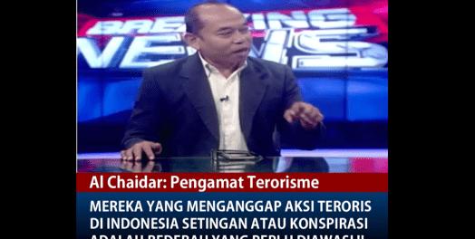 Pengamat Terorisme: Orang yang Anggap Aksi Teroris di Mabes Polri Settingan adalah Bedebah