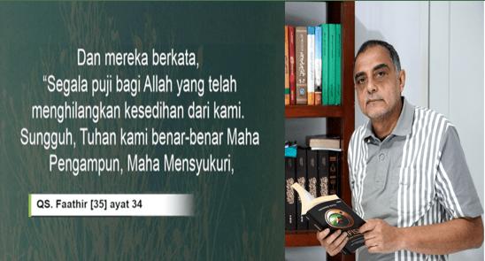 Haidar Baqir: Ibadah Terbaik Untuk Tuhan, Membahagiakan Orang-orang yang Sedih