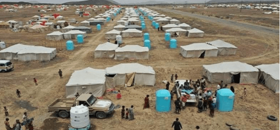 Tentara Bayaran Saudi Gunakan Pengungsi Ma'rib Sebagai Tameng Manusia