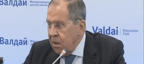 Lavrov: AS Gunakan Teroris Sebagai Alat Begal Suriah