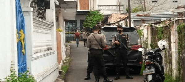 2 Terduga Teroris Diamankan tepat di Hari Kenaikan Isa Almasih