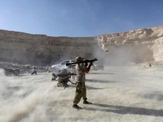 Suku-suku Arab Rebut Markas Tentara AS di Suriah Timur