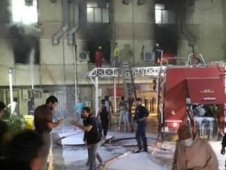 Rumah Sakit Covid Baghdad Kebakaran, 82 Orang Meninggal
