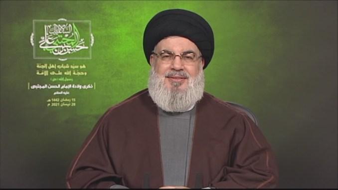 Sekjen Hizbullah Puji Konfrontasi Heroik Palestina di Al-Quds