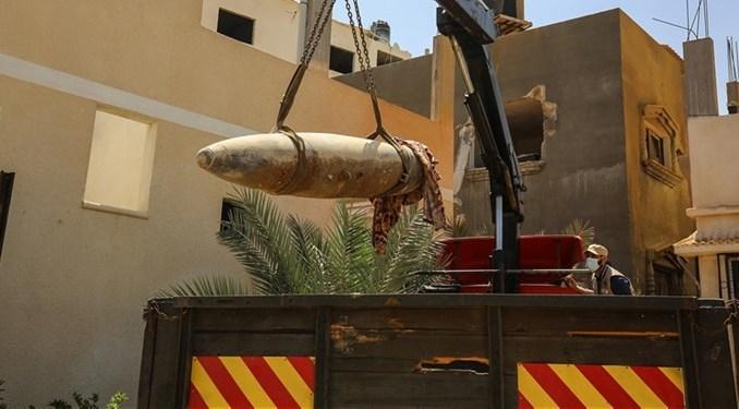 Polisi Gaza Jinakkan Hampir 300 Rudal Israel yang Tidak Meledak