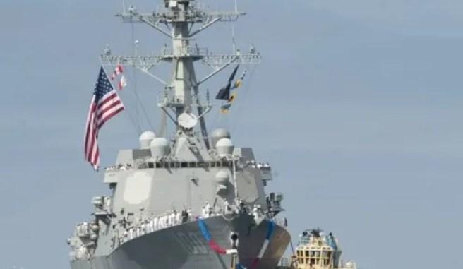 Kapal Perang AS Gagal Cegat Serangan Rudal Balistik