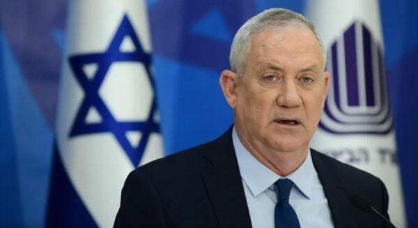 Menteri perang rezim Israel Benny Gantz