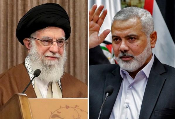 Surati Ayatullah Khamenei, Pimpinan Hamas Bahas Situasi Tanah Pendudukan