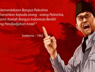 Jejak Dahsyat Bung Karno dan Bangsa Indonesia Dukung Palestina