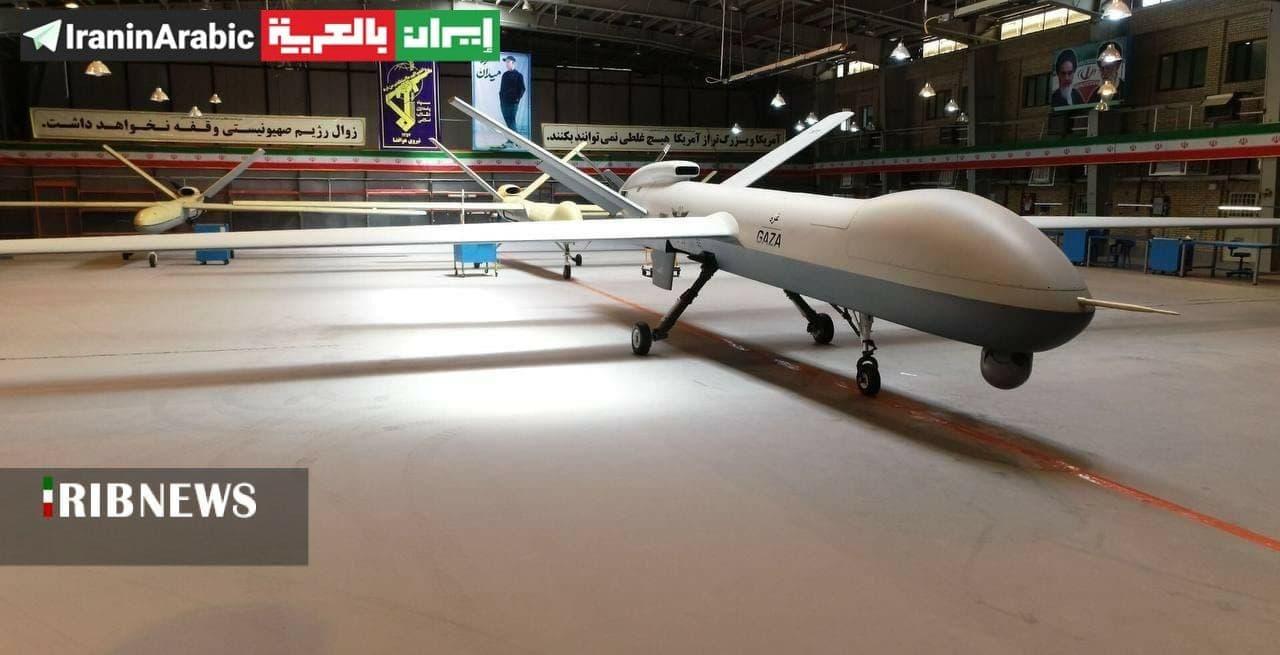 IRGC Pamerkan Drone Super Canggih yang Diberi Nama 'Gaza'