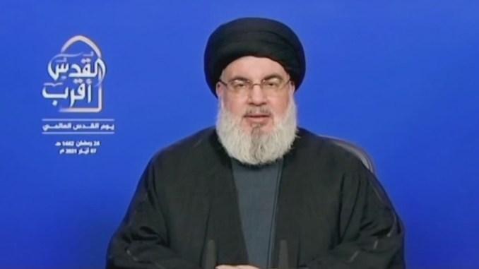 Nasrallah: Israel Akan Diusir dengan Paksa dari Palestina