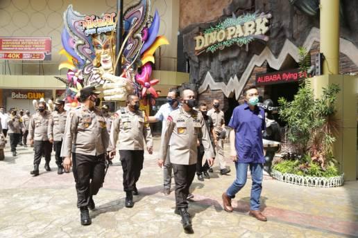 Tim Supervisi Mabes Polri, Cek Penerapan Prokes Tempat Wisata di Jatim