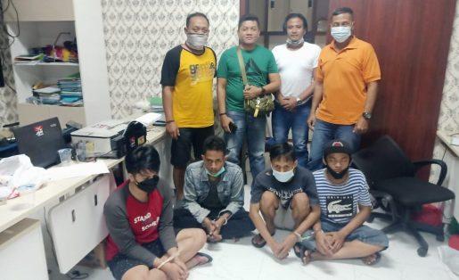 Keroyok Anggota TNI AL, 4 Preman Terminal Bungurasih Diringkus