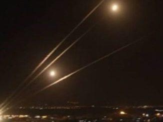 Ratusan Roket Brigade Al-Qassam Hujani Ibukota Israel