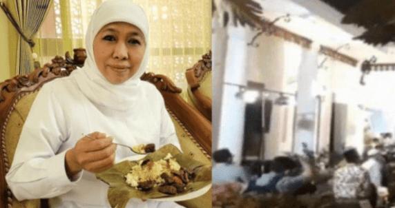 Buntut Ultah Gubernur Jatim, Khofifah Dilaporkan ke Polisi
