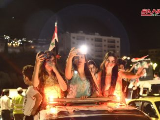 Suriah Mulai Proses Perhitungan Suara, Rakyat Berpesta!