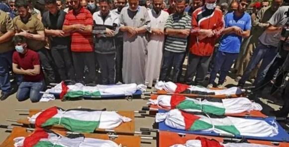 Komisi HAM: Israel Agendakan Pemusnahan Sistematis Seluruh Keluarga Palestina