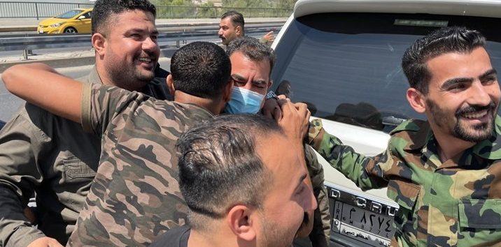 Foto Komandan Hasdh Al-Shaabi Dibebaskan