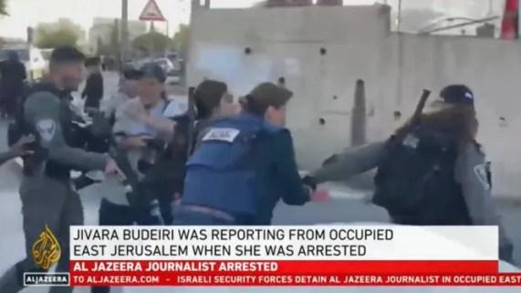 Jurnalisnya Ditangkap secara Brutal, Al-Jazeera Kecam Pelanggaran Israel