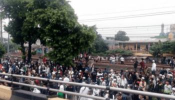 Polisi Tangkap 200 Orang Simpatisan Habib Rizieq Shihab