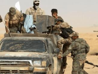 AS Serang Konvoi Mobil Logistik Hasdh Al-Shaabi Irak