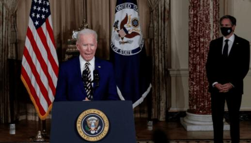 Pasca Ketemu PM Irak, Biden Tegaskan Pasukan AS Tinggal