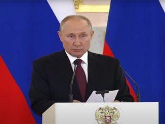 Putin: Sanksi Ilegal Barat Perburuk Kondisi Suriah