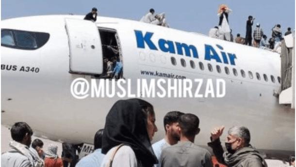 Chaos di Bandara Kabul, Pasukan AS Lepaskan Tembakan