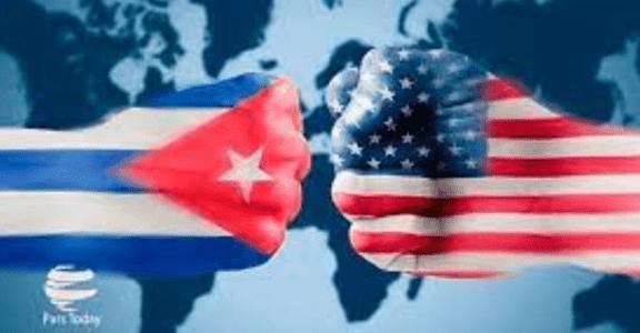 Wajah Arogan AS Berikan Sanksi 3 Pejabat Kuba