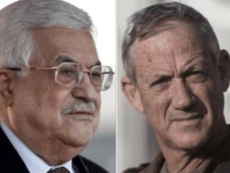 Hamas Kutuk Pertemuan Abbas dan Gantz di Ramallah