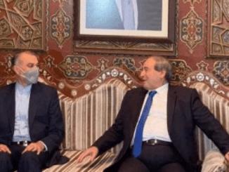 Dari Irak Menlu Baru Iran Langsung Kunjungi Suriah