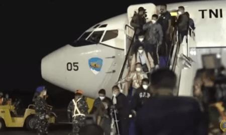 WNI Dievakuasi dari Afghanistan Tiba di Bandara Halim Perdanakusuma