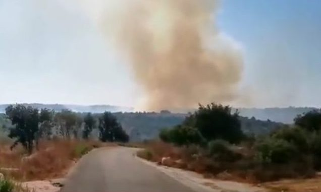 Israel Luncurkan Artileri, Ketegangan Meningkat di Lebanon Selatan