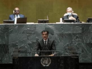 Di Sidang PBB, Emir Qatar Kecam Proyek Yahudisasi Israel