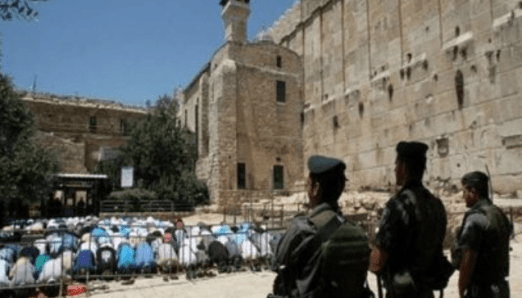 Israel Tutup Masjid Ibrahimi dengan Dalih Hari Yahudi