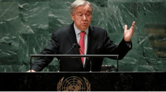 Sekjen PBB: Dunia di Tepi Jurang Krisis Terbesar