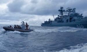 AL Rusia Gagalkan Pembajakan Kapal di Teluk Guinea