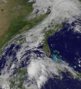 depresion se convierte en tormenta tropical